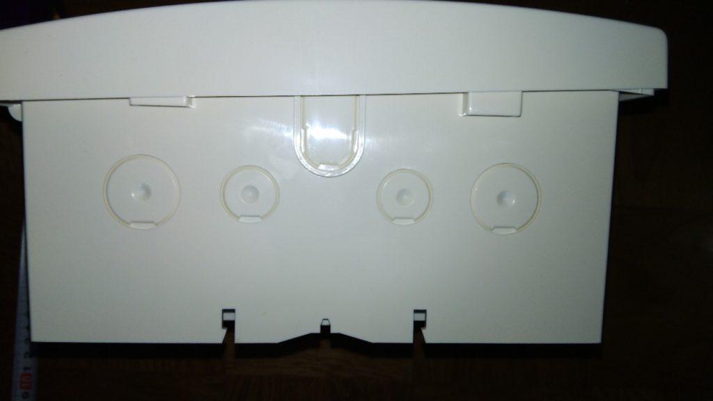 天板部の切溝の写真