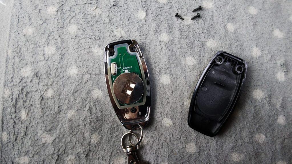 リモコン用電池の写真