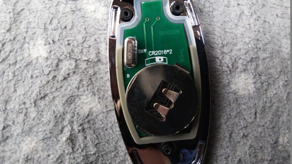 電池の拡大写真