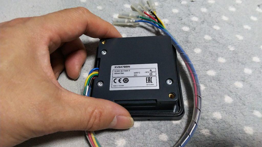 電子音ブザー裏面の写真