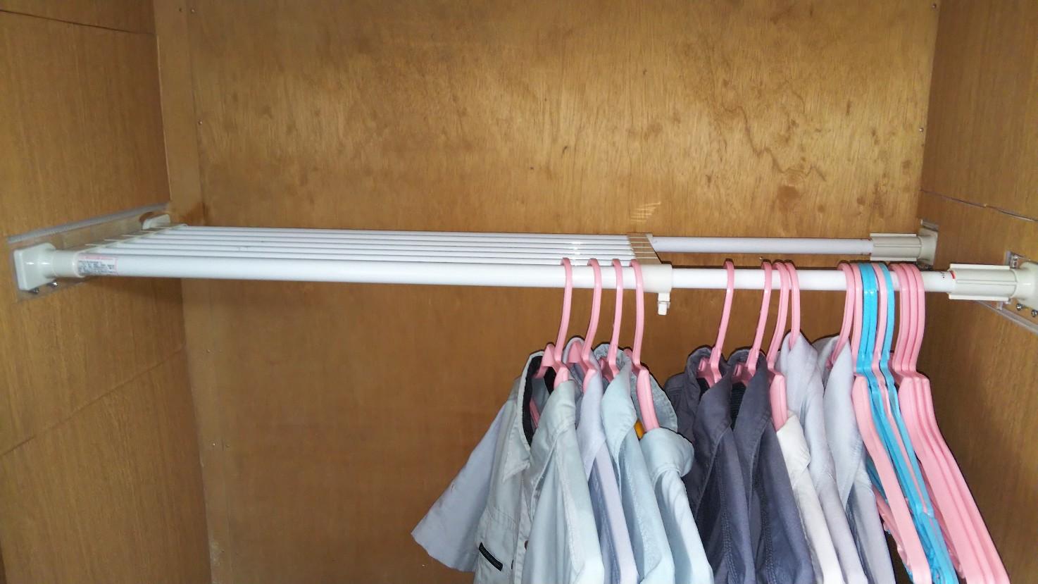 衣装スペースの写真