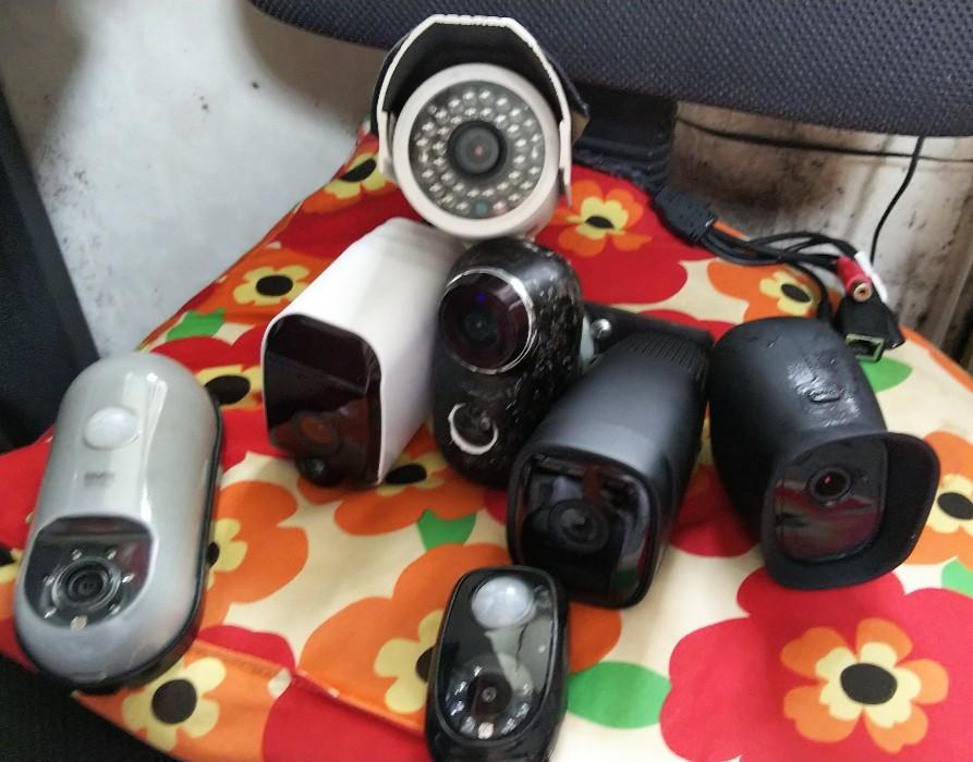 カメラ各種の写真