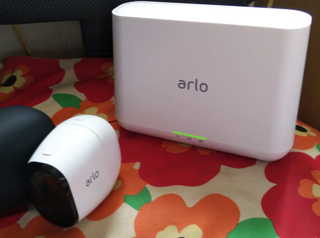 Arlo一式の写真