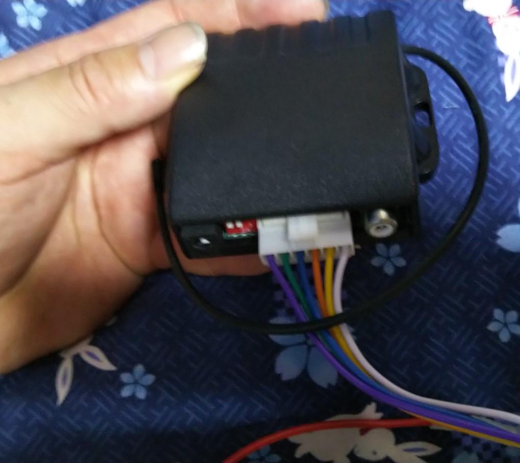 コネクターセットの様子の写真