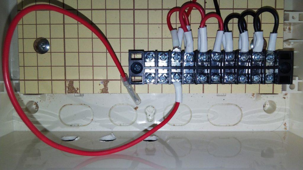 プラスコード接続の写真