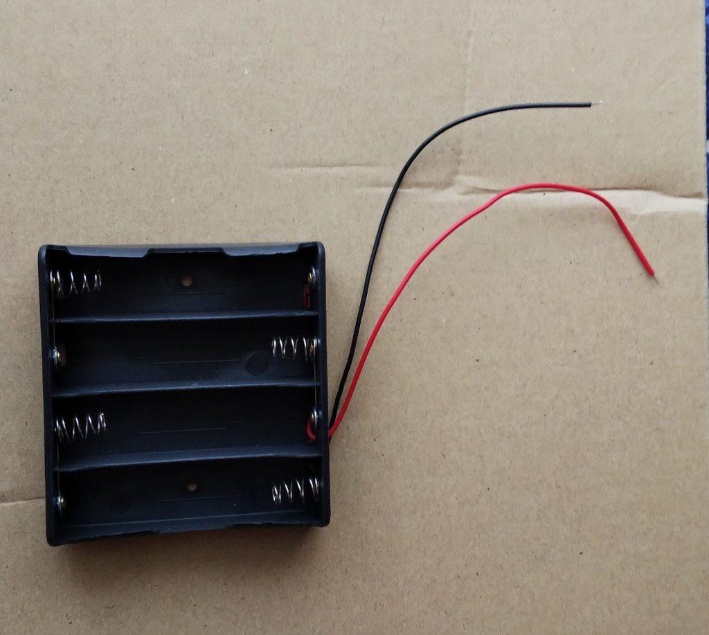 18650用電池ボックスの写真