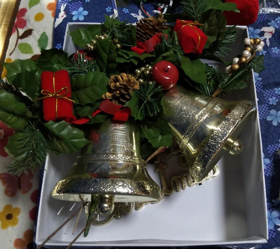 クリスマス用飾り各種の写真