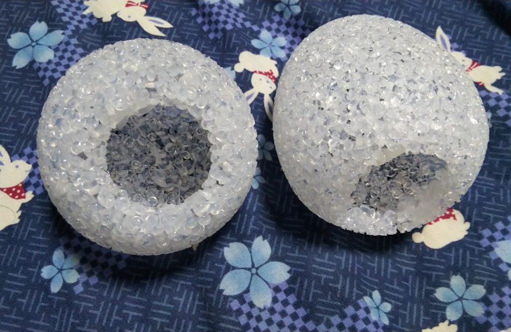 キラキラボール&キラキラエッグの本体部の写真