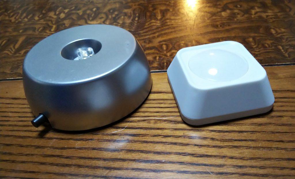 LEDライトスタンド&リモコンライトの写真