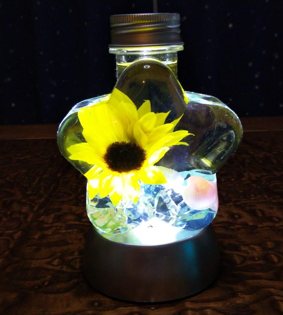 ハーバリウムライトアップ②写真