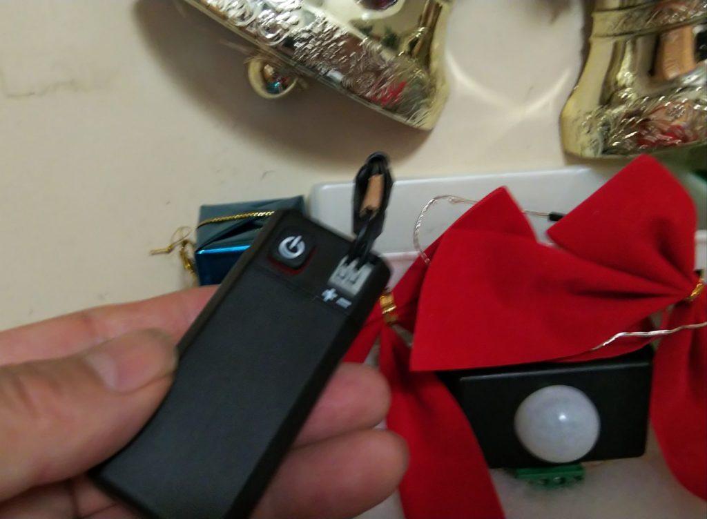 電池ボックス取り出しの写真
