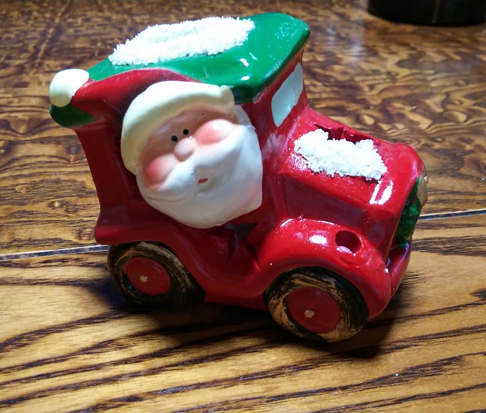 クリスマス用置物の写真