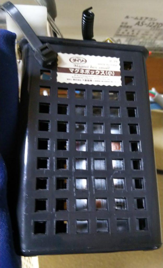 電池ボックスを収納した様子