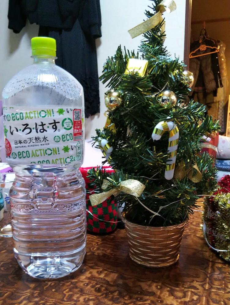 クリスマスミニツリーの写真
