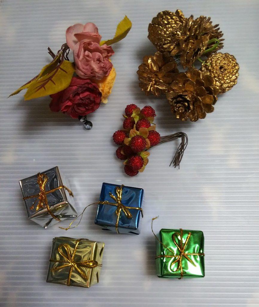 クリスマス飾り用素材の写真