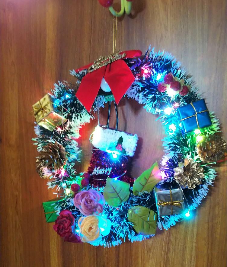 クリスマスリース電飾Ver.の写真