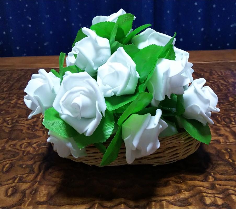 薔薇の飾り物の写真