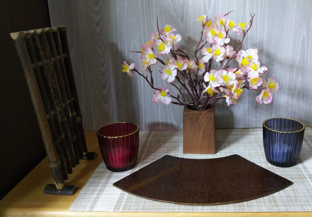 桜飾りの写真