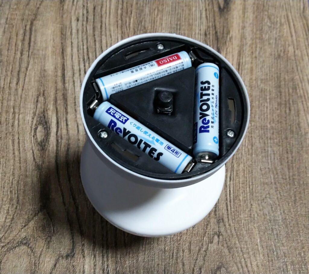 電池セットの写真