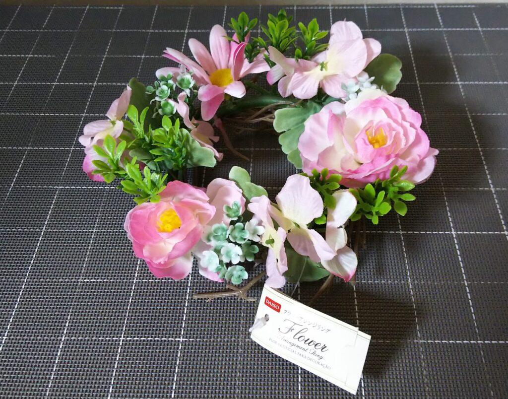 花飾りリースの写真