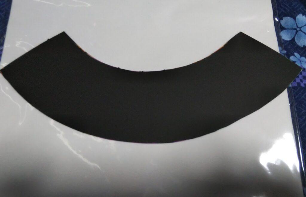 切り出したスクラッチフィルムの写真