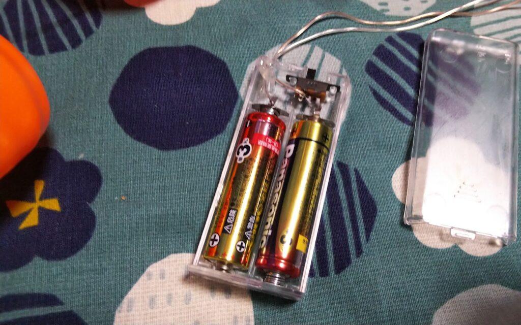 電池部の写真