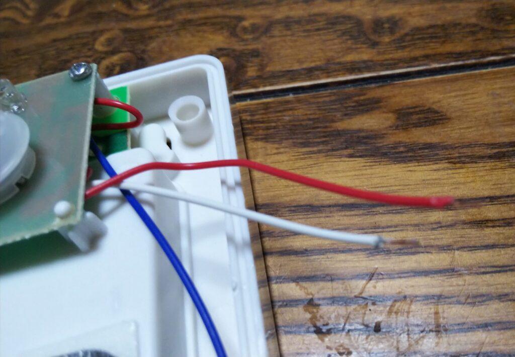 LED分離後の写真